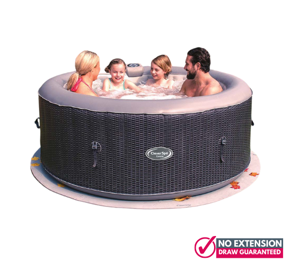Clever Spa 4 person hot tub2