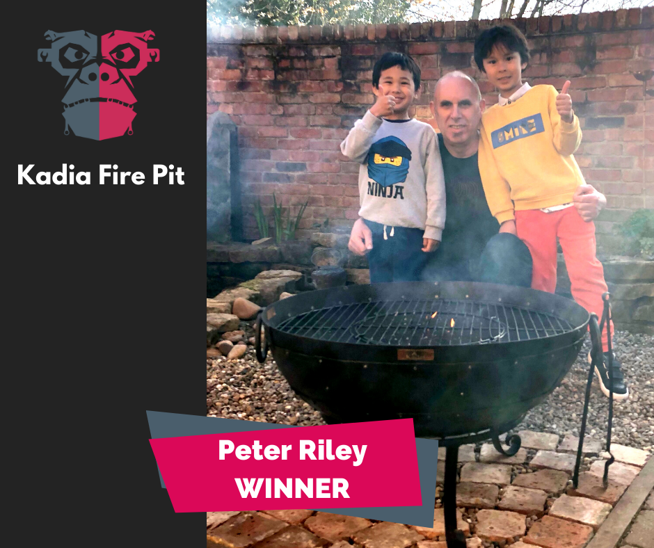 Peter Riley Winner